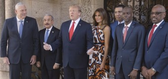 Caribbean Leaders Meet with President Trump