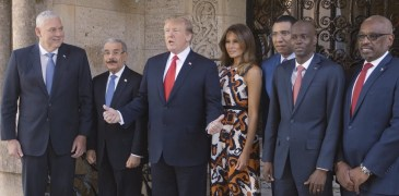 Trump Meets with Caribbean Leaders