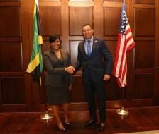 Mayor Bottoms & Prime Minister Holness