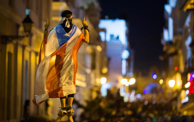 Puerto Rico protest 2019