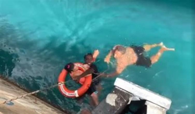 Virgin Islands Cruise Ship Rescue
