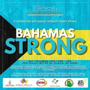 Bahamas Strong Flyer