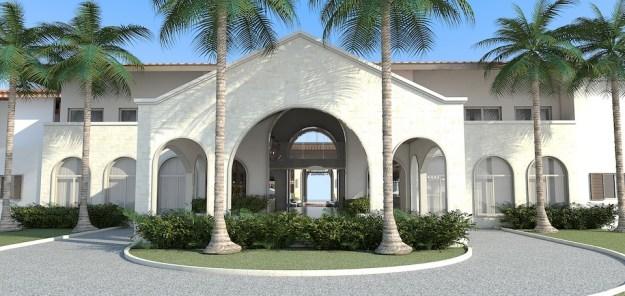 all-inclusive grenada resort entrance