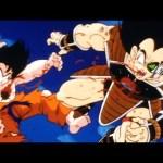 Dragon Ball z Pikoro mata a Goku y Raditz