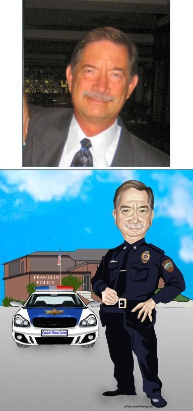 policeman caricature