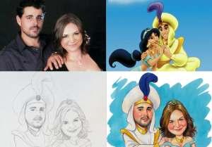 caricature development