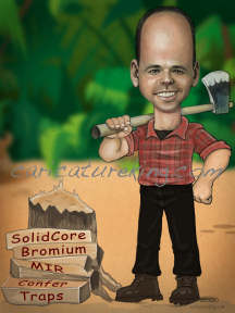 lumberjack caricature