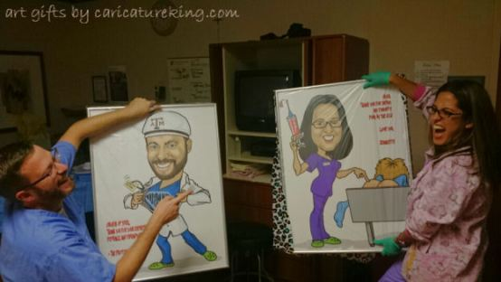 caricature art gifts