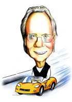 driver caricature