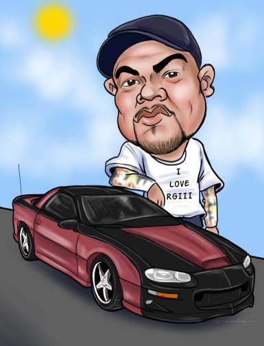 cartoon car dude