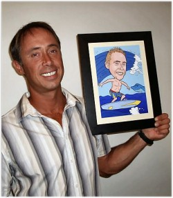 customer caricature