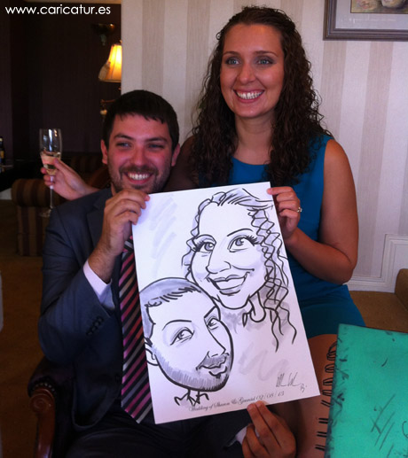 How do you keep your guests entertained during the drinks reception?