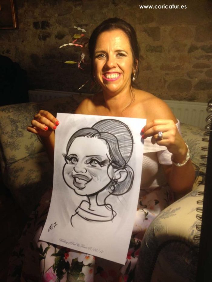 Caricature Artist for Weddings in Glebe House Co. Meath!
