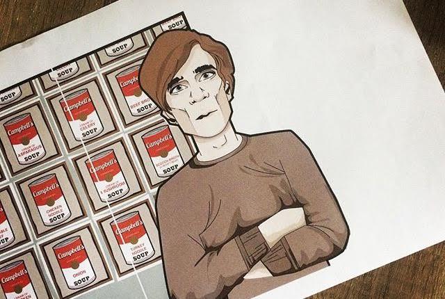 Andy Warhol Cartoon