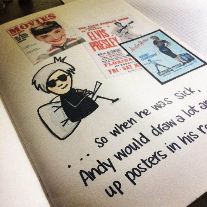 Andy Warhol comic book