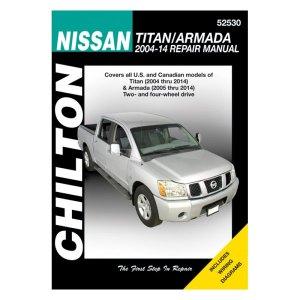 Chilton® 52530  Nissan TitanArmada Repair Manual  CARiDCOM