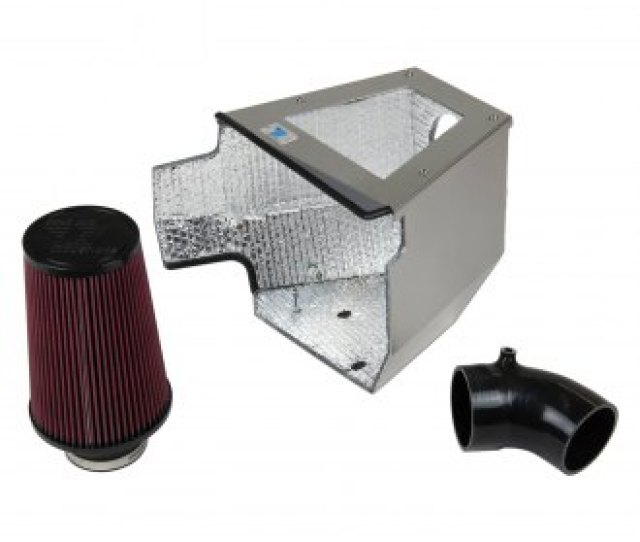 Cold Air Inductions Elite Series Silicone Cold Air Intake System With Red Filter