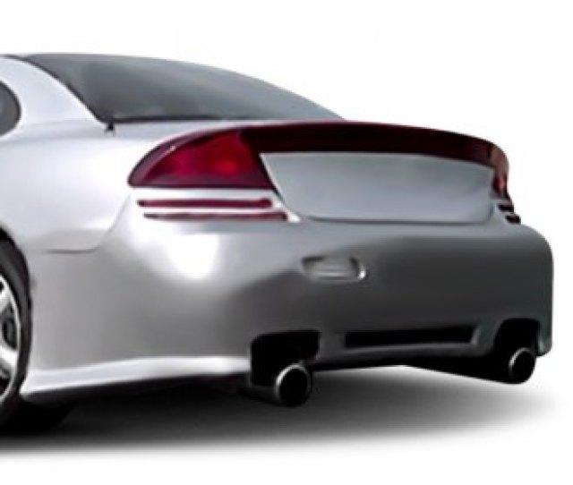 Duraflex G 2 Style Fiberglass Rear Bumper Cover Unpainted