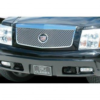 2002 Cadillac Escalade Custom Grilles Billet Mesh Led Chrome Black