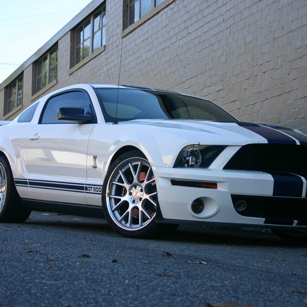 2013 Shelby Mustang White