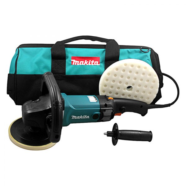 "Makita® 9237CX2 - 7"" Premium Variable Electric Polisher ..."