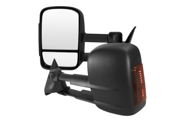 Option-R® - Black OEM Style Towing Mirrors