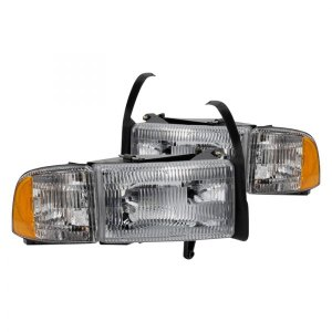 Spyder®  Dodge Ram 1994 Chrome Factory Style Headlights