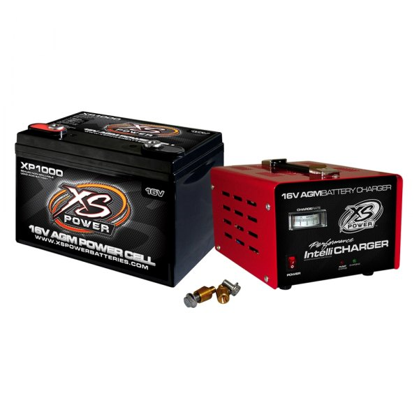 XS Power® XP1000CK2 - XP-Series AGM Battery with 15 Amp ...