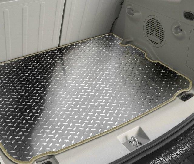 Acc Silver Diamond Plate Cargo Mat