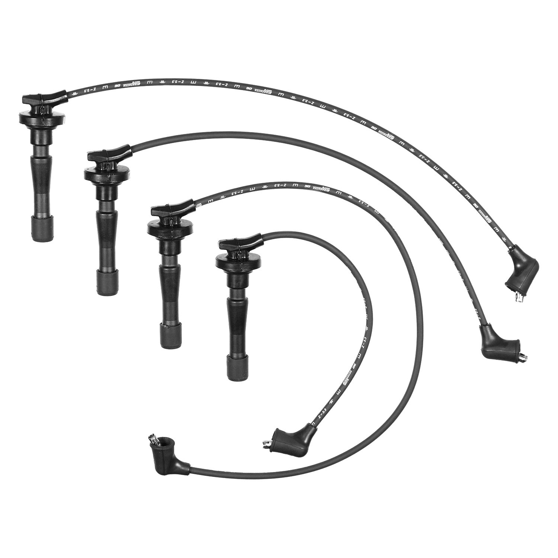 For Acura Integra 90 01 Accel Prestolite Proconnect Spark Plug Wire Set