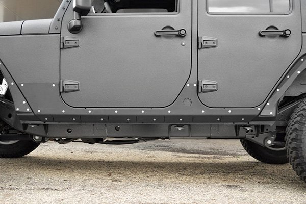 ACE Engineering Jeep Wrangler 2007 2017 Rocker Guards