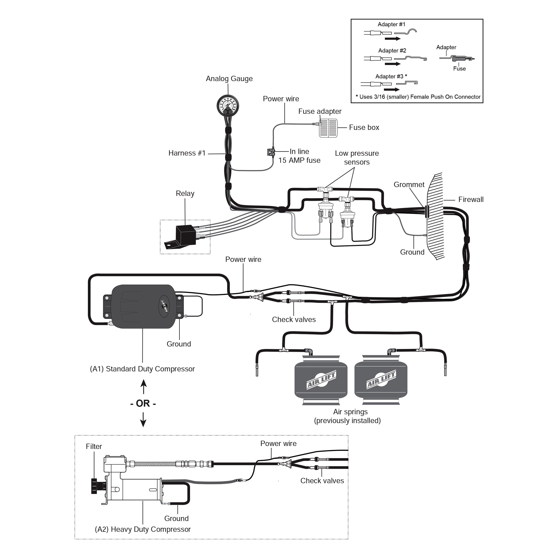 Lift® load controllerair lift® load controllerair lift® load controllerair lift® loadcontroller™ installed