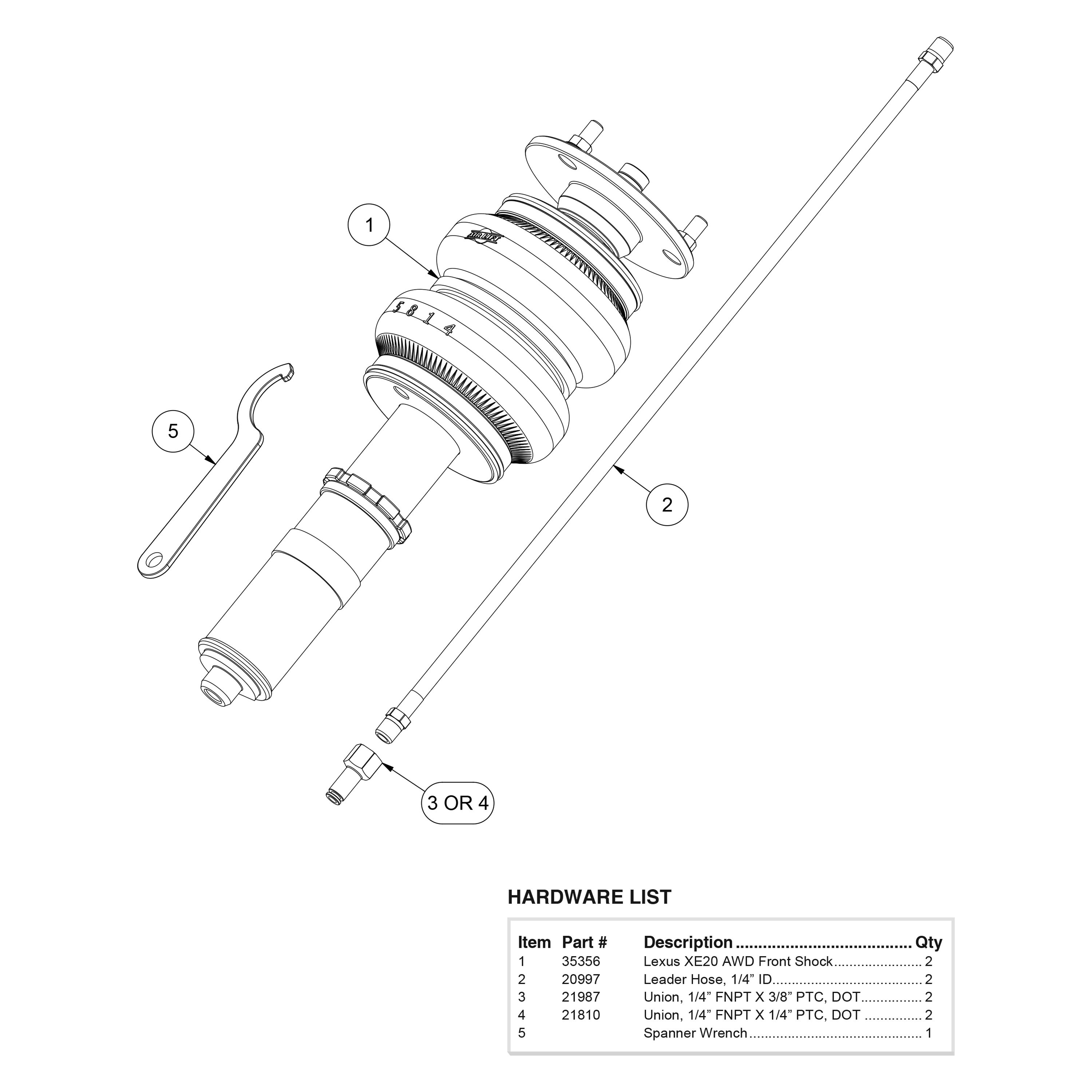 For Lexus Is250 06 13 4 3 Front Performance Air