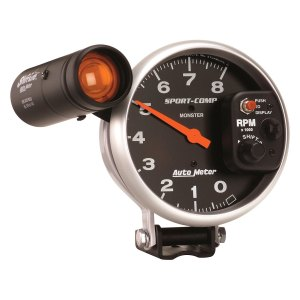 Auto Meter 3905  SportComp Tachometer Pedestal Gauge