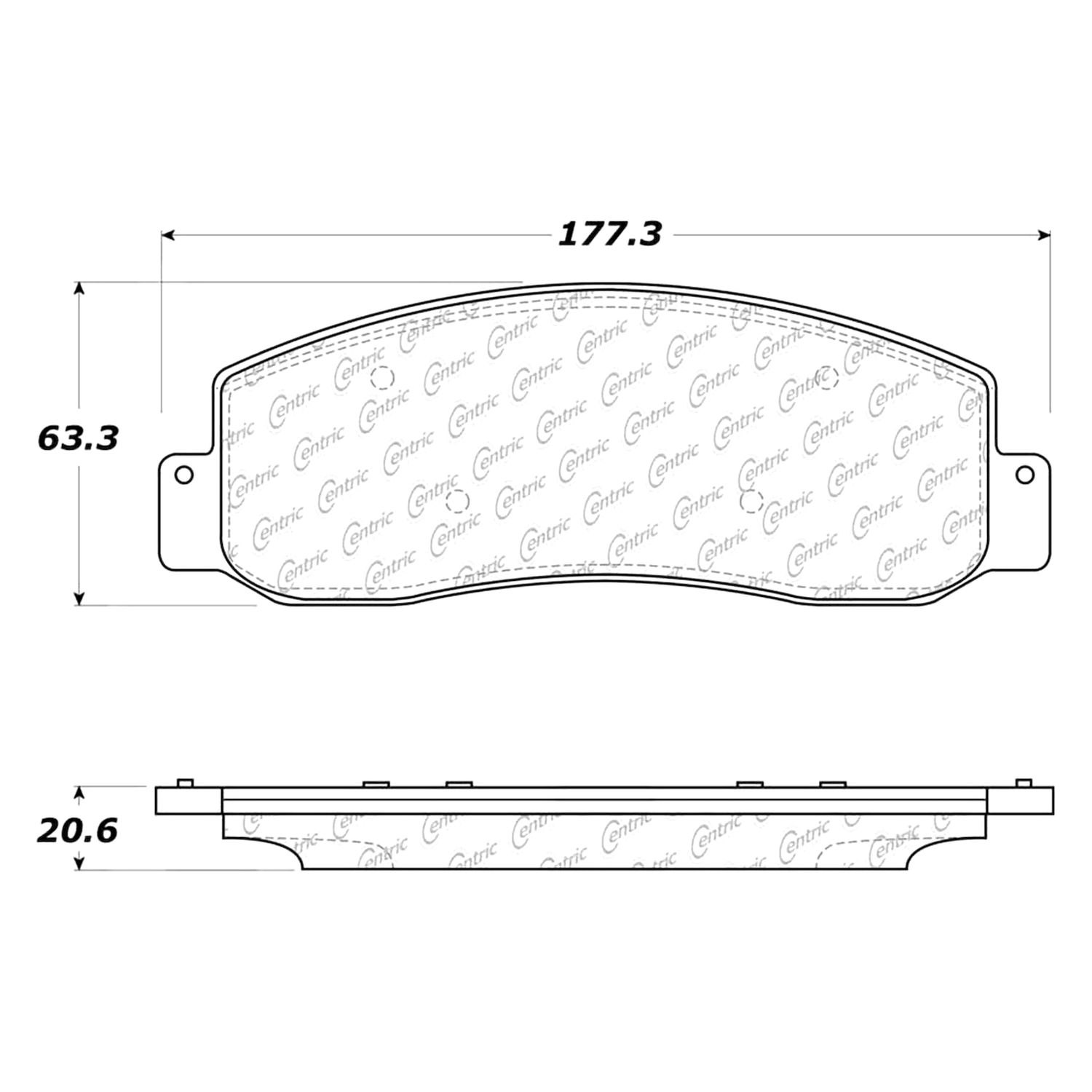 For Ford F 350 Super Duty 05 12 Disc Brake Pads Posi Quiet