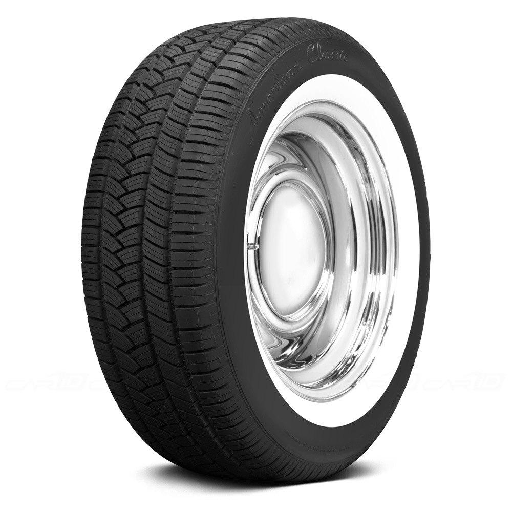 COKER Tire 6764341 American Classic 2 18 Inch Whitewall