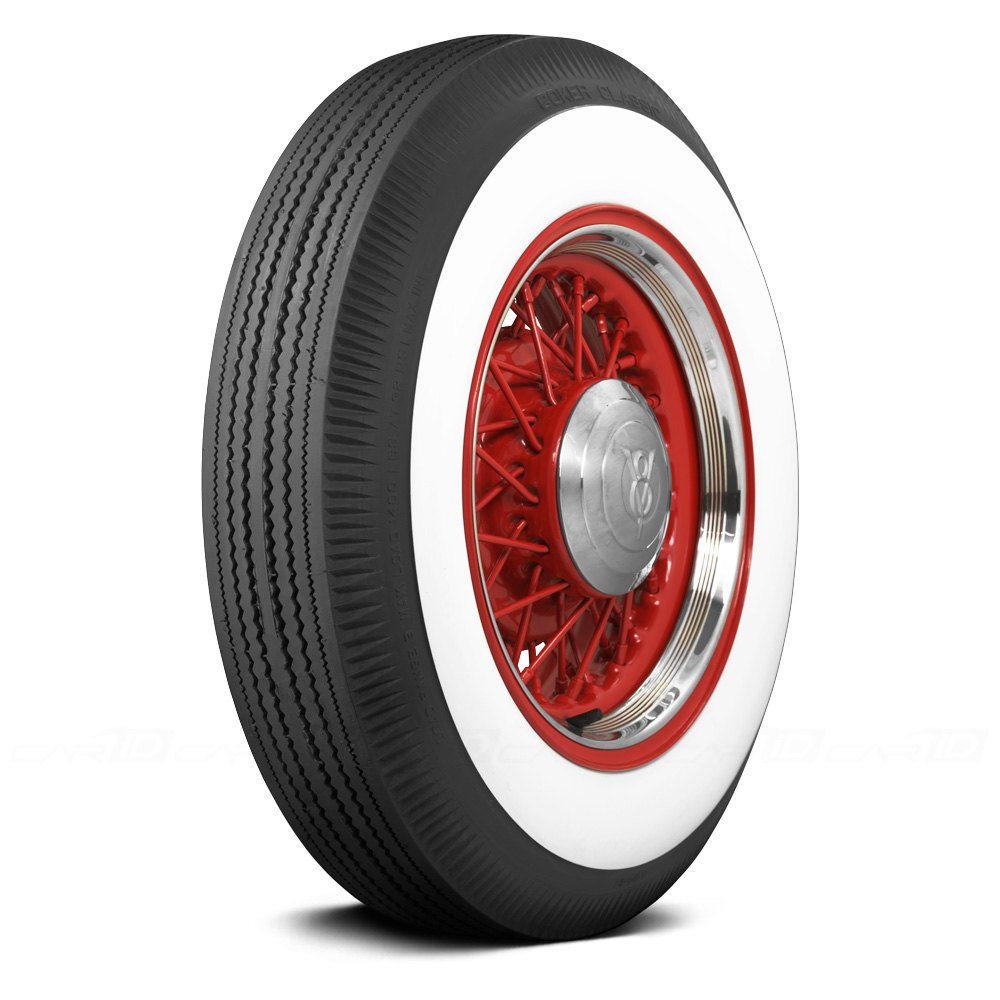 COKER CLASSIC 3 INCH WHITEWALL Tires