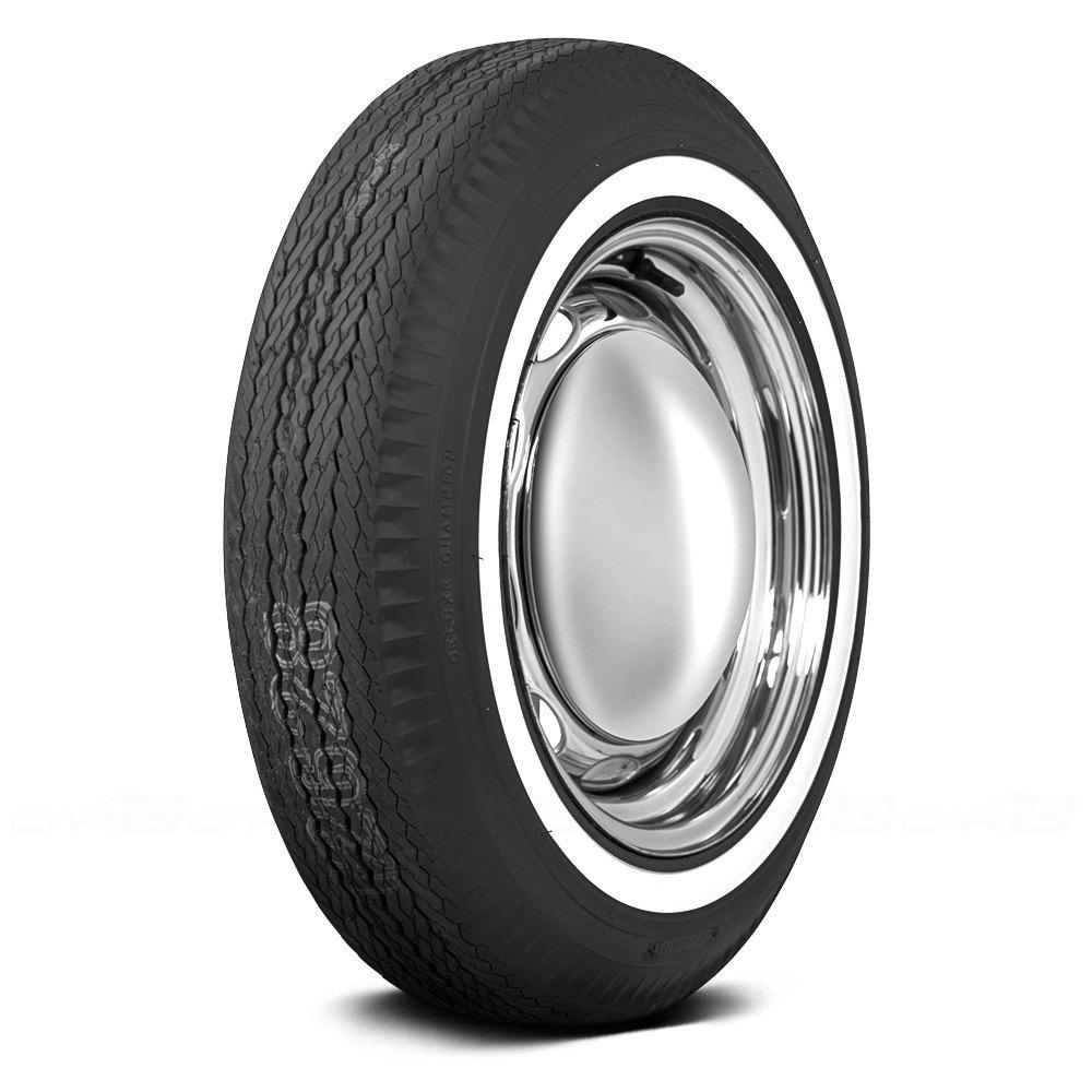 COKER FIRESTONE 1 INCH WHITEWALL Tires
