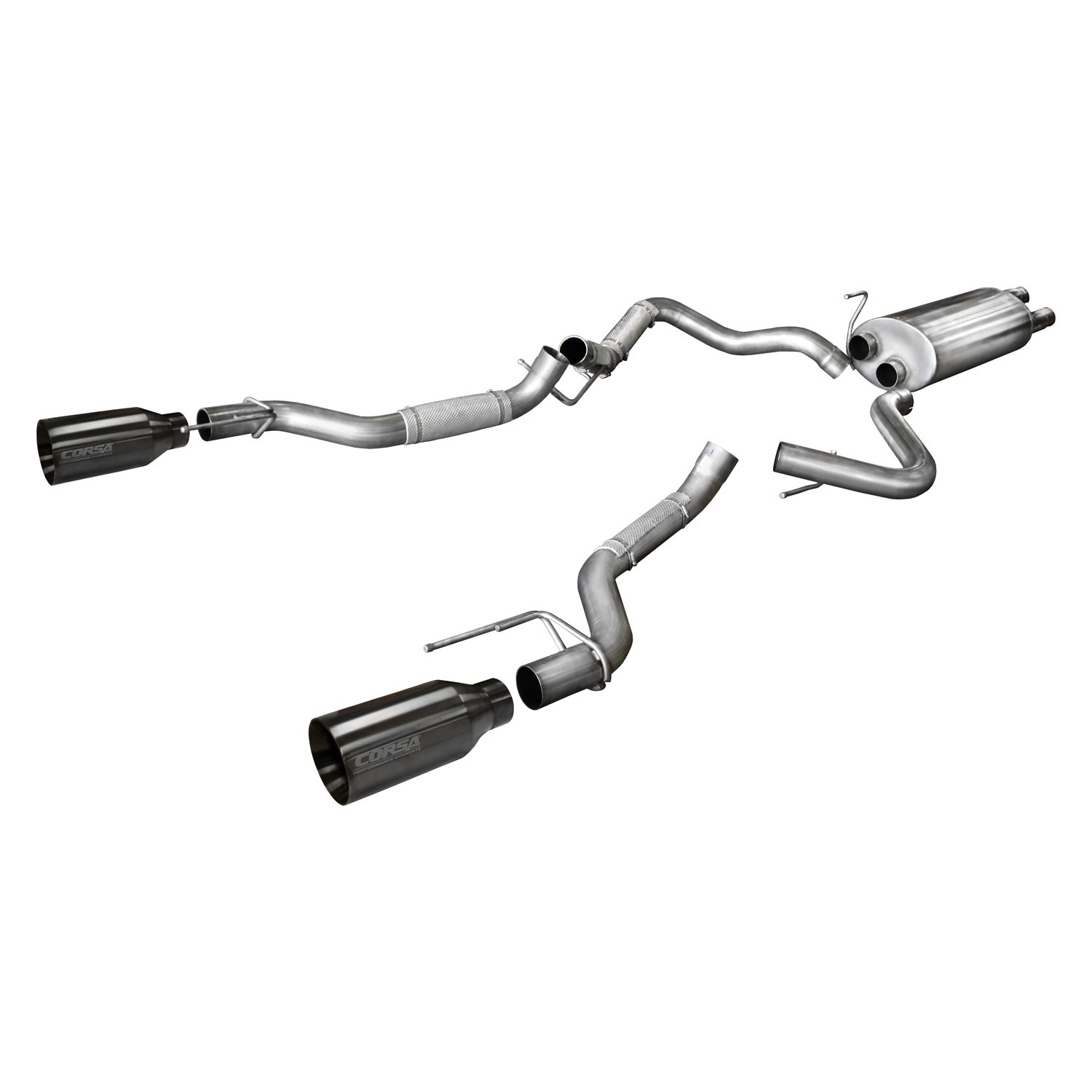 For Ford F 150 17 Corsa Sport Series Stainless Steel