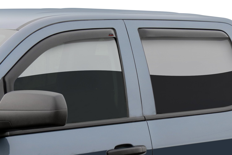 Car Window Wind Deflectors Channel