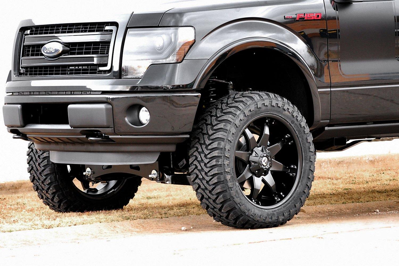 Matte Black Wheels F150