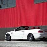 White Bmw M3 Convertible E46 On Vossen Rims Carid Com Gallery