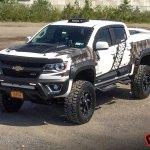 Car Streak Custom Chevy Colorado