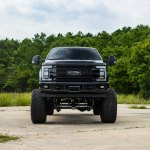 Unmatched Style Lifted Ford F350 Super Duty Put On Big Fuel Wheels Carid Com Gallery