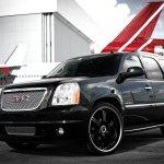 Gmc Yukon Denali On Black Custom Wheels By Exclusive Motoring Carid Com Gallery