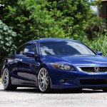 Azure Blue Honda Accord Upgraded Exterior Wise Carid Com Gallery
