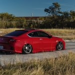 Stance Is Everything Red Honda Accord With Custom Parts Carid Com Gallery