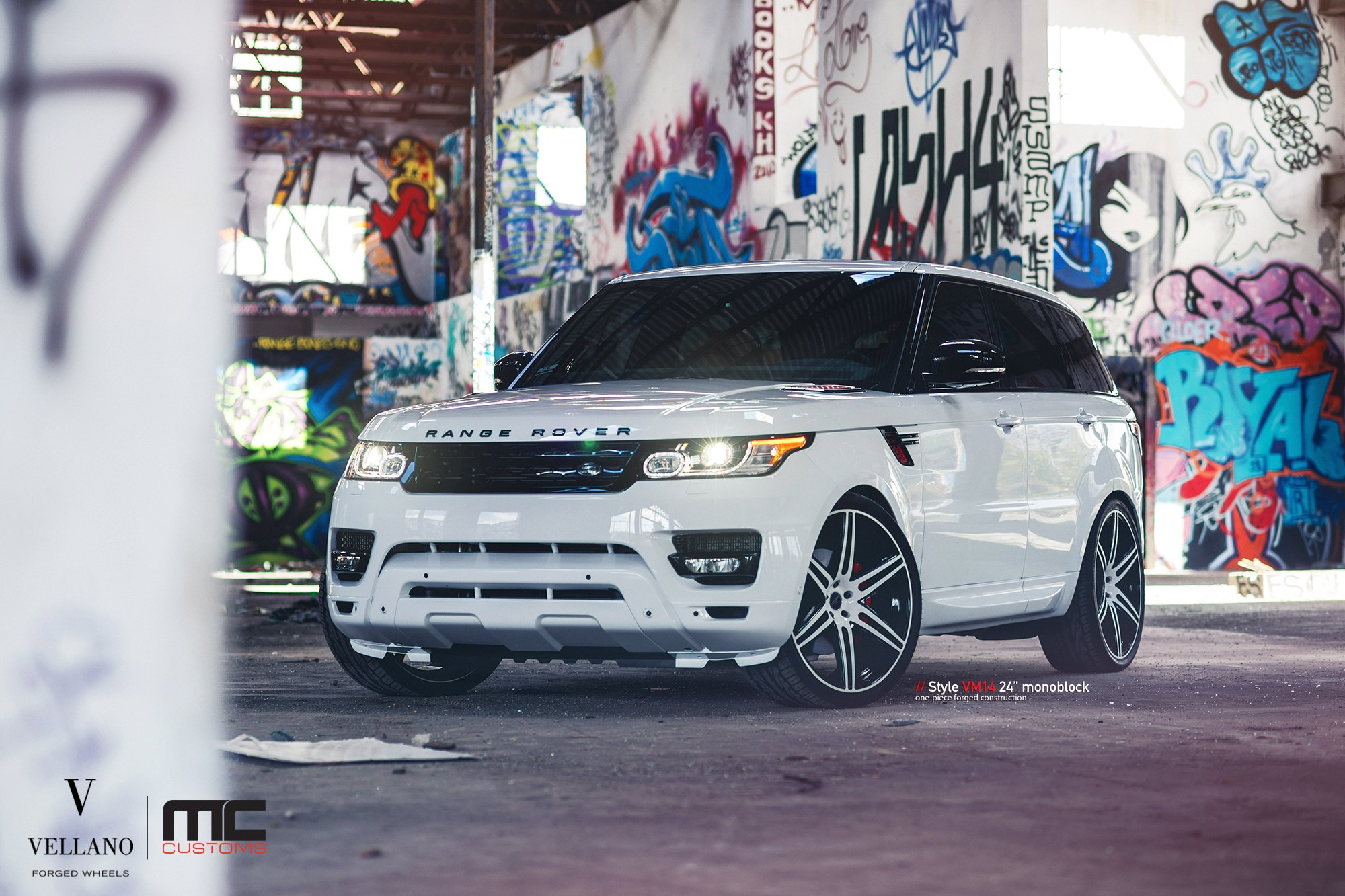 Style is Everything White Range Rover Sport Customized and Put on