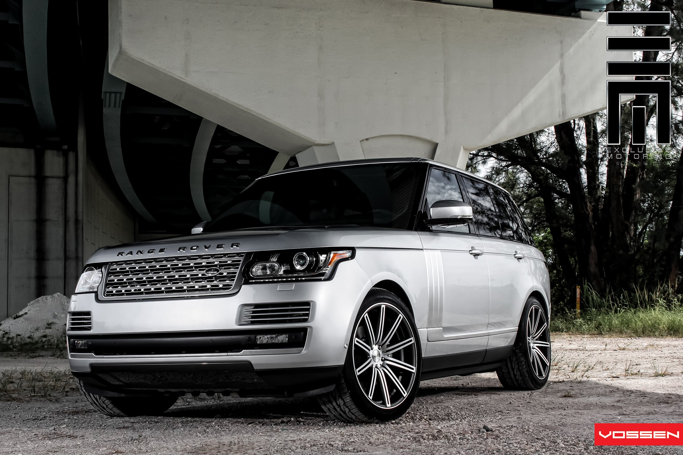 What Classy Looks Like Platinum Gray Range Rover With Vossen