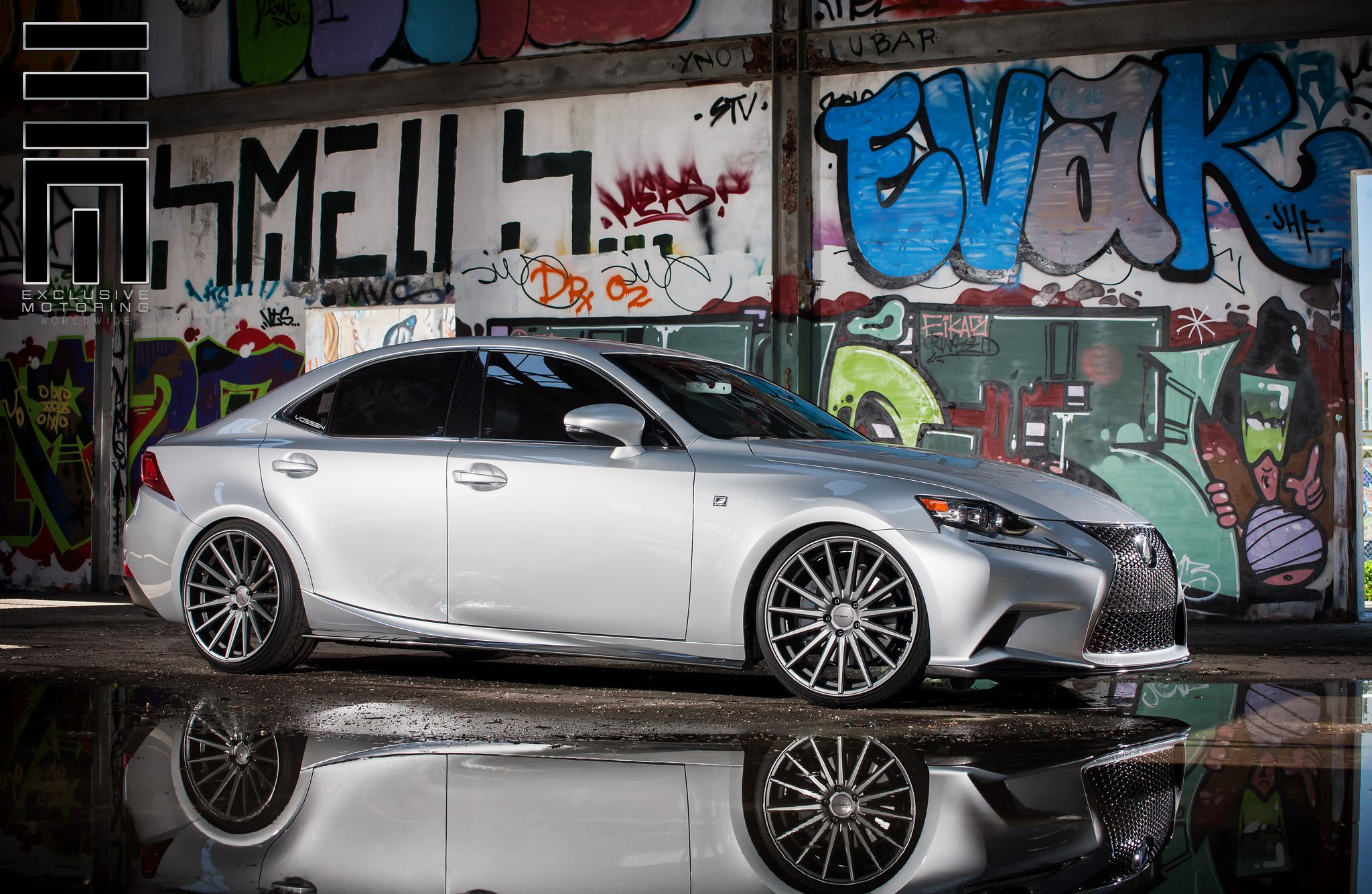 Lexus IS F With a Perfect Stance by Exclusive Motoring — CARiD